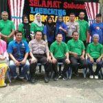 Kampung Sriwijaya Kota Kualasimpang Lounching Bank Sampah