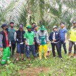 DLH dan Kodim 0117/Atam Tanam Pohon di Hutan Kota Aras Sembilan