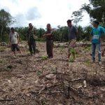 Tim DLH Tinjau Lokasi Rencana Penanaman Pohon Produktif di Kampung Proklim