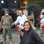 Bupati dan Kadis LH Sosialisasi Kebersihan Kota Kualasimpang