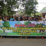DLH Aceh Tamiang Gelar Gotong Royong